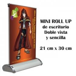 Mini Roll Up de Escritorio