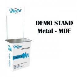 Demo Stand de Metal-MDF Recto